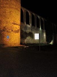 Iluminação Cénica da Muralha – Serpa